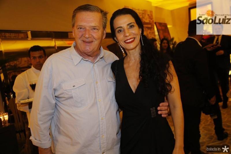 Bernard Twardy e Fernanda Zebalos