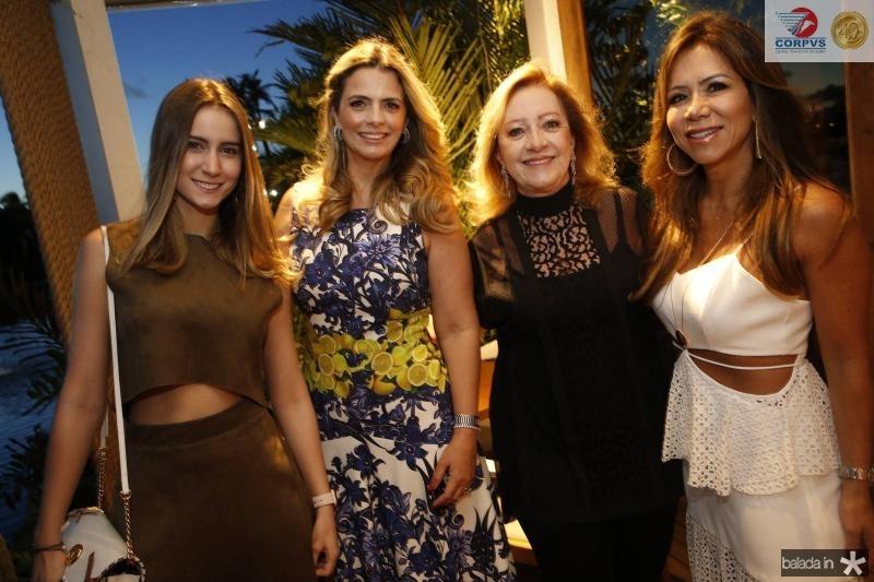 Vivian Cavalcante, Tais Pinto, Tania Teixeira e Sakie Brookes