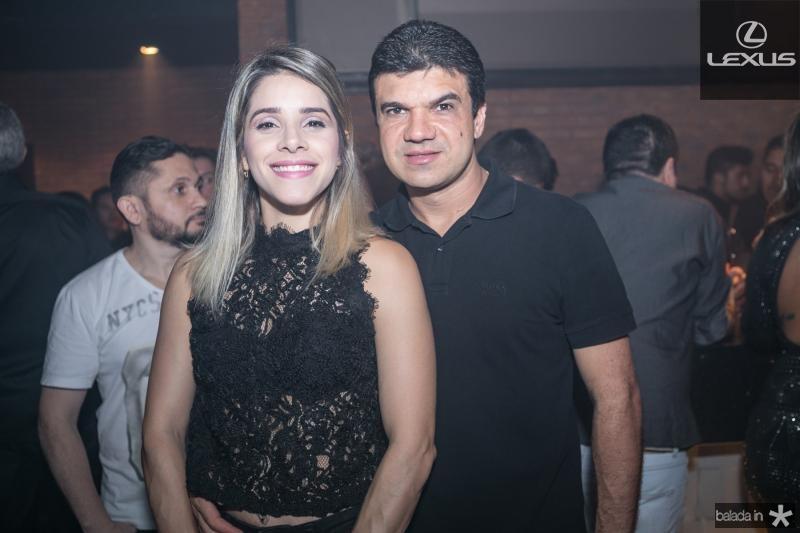 Elane e Marcelo Braga