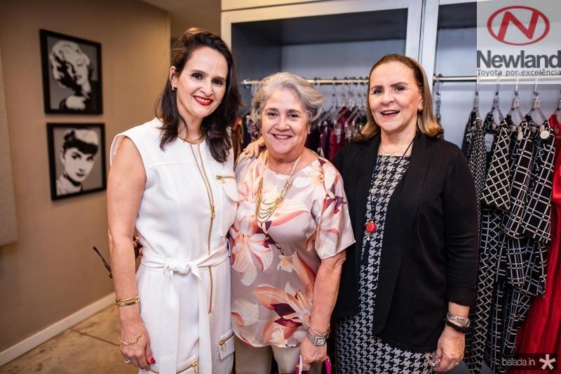 Adriana Miranda, Goretti Cavalcante e Beatriz Fiuza