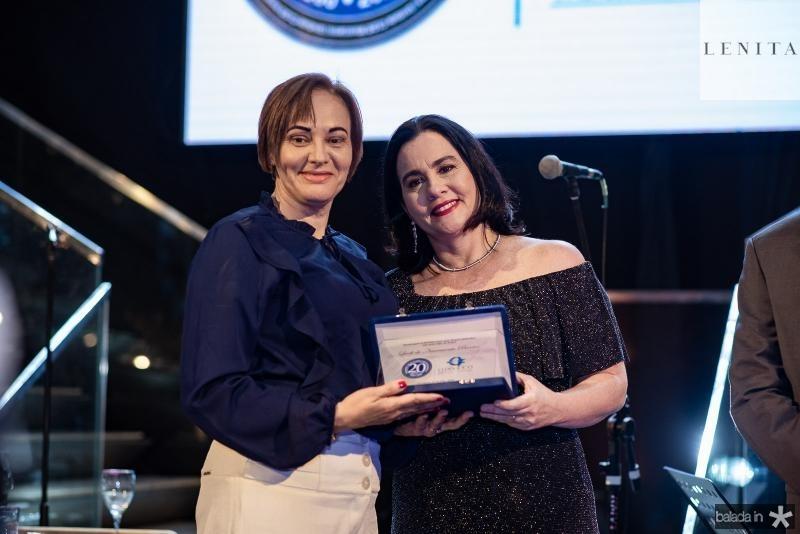Lueli Barros e Ana Cristina Machado