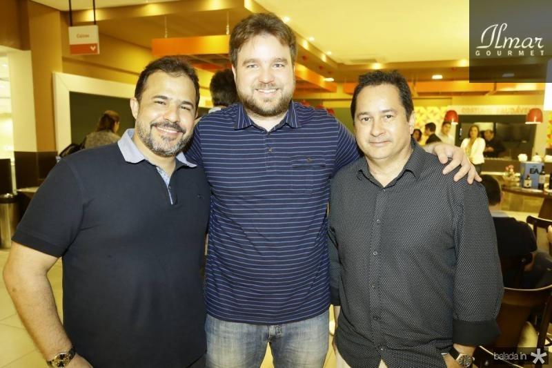 David Barreto, Joaquim Cabral e Sergio Coelho
