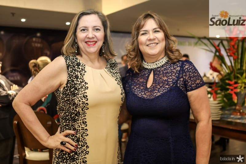 Veronica Patricio e Marcia Pinheiro