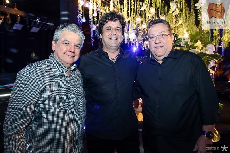 Chico Esteves, Pedro Freitas e Valdomiro Tavora