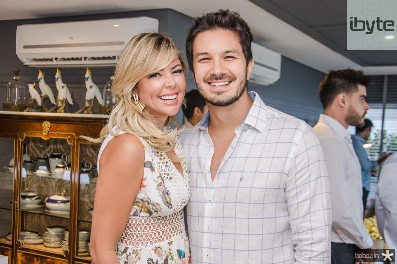 Patricia Dias e Levi Castelo Branco