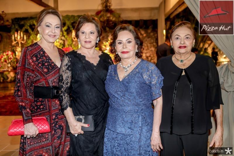 Noelia Pinheiro, Marta Pinheiro, Marly Nogueira e Marlis Figueiredo