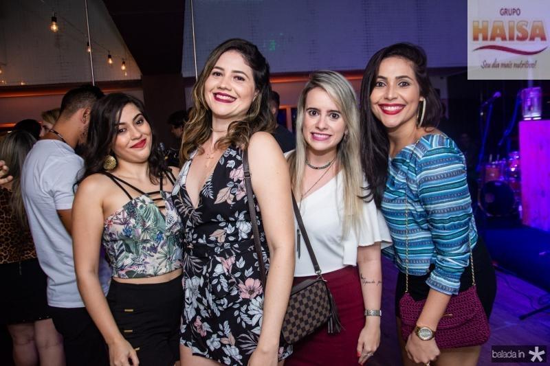 Railane Castro, Mirlene Tavares, Samia Ricarte e Milena Tavares