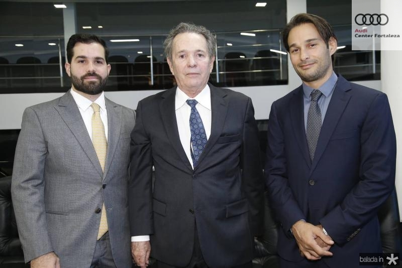 Felipe, Claudio e Claudinho Rocha