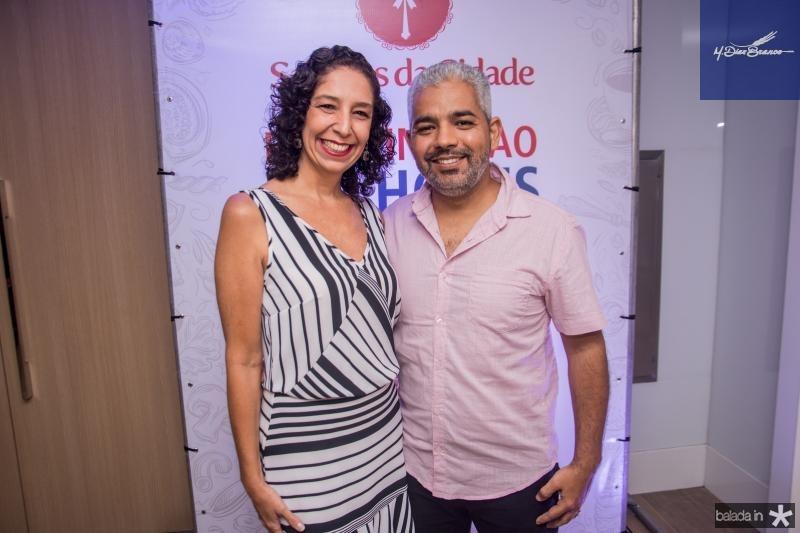 Ana Patricia Moraes e Alexandre Melo