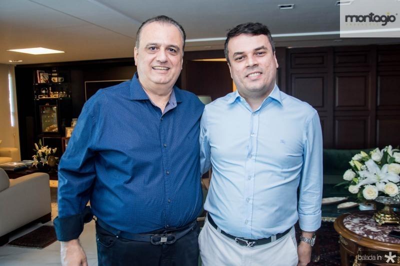 Max Câmara e Marcos Freire
