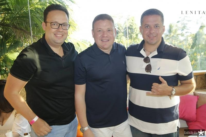 Daniel Joca, Rodrigo Souza e Rafael Loureiro