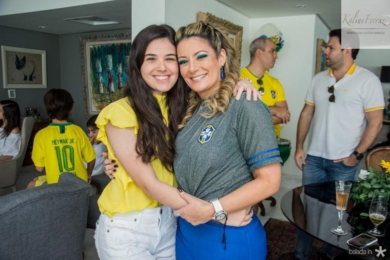 Beatrice Vasconcelos e Tatiana Luna