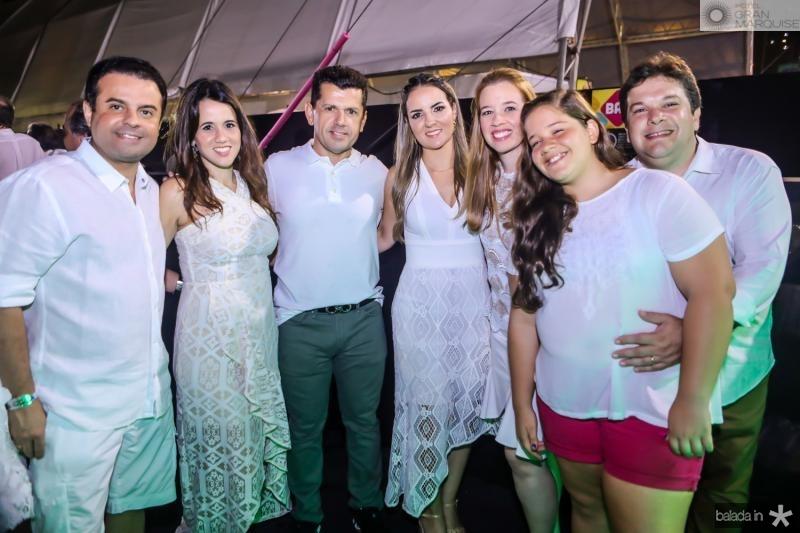 Alan e Camila Bringel, Erick e Raquel Vasconcelos, Marina, Natalia e Chico Vale