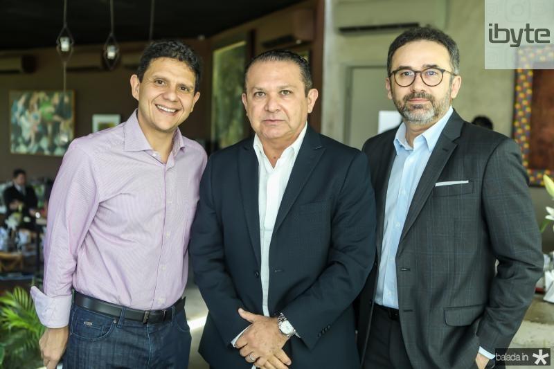 Anderson Rocha, Max Bezerra e George Pinto