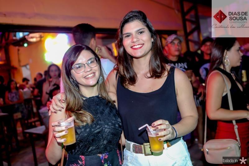 Leticia Fernandes e Alessandra Eugenio