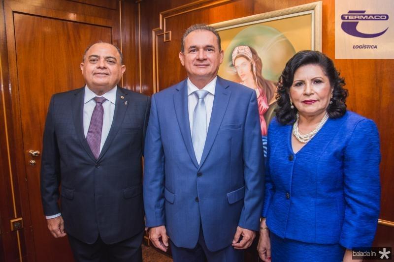Teodoro Silva, Washington Araujo e Nailde Pinheiro