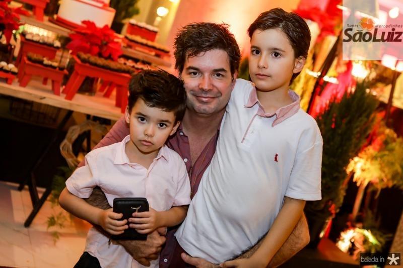 Marcelo, Andre e Guilherme Pires