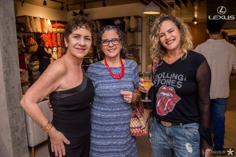 Lilia Quindere, Noema Guimaraes e Alice Guimaraes