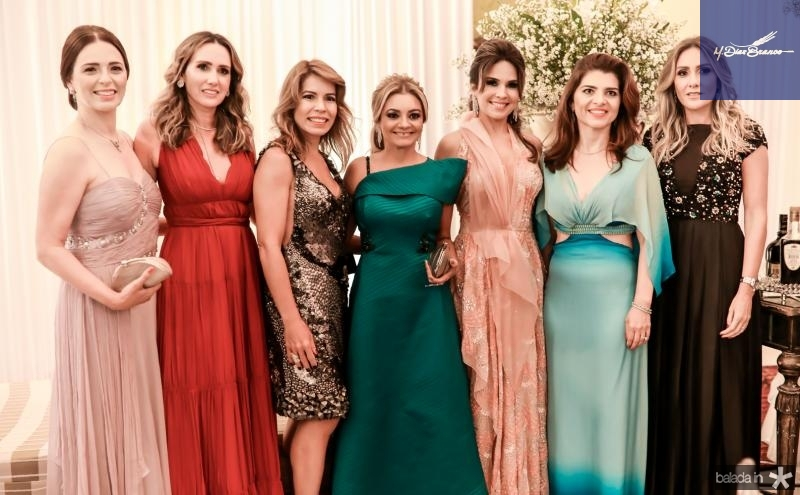 Adriana Medeiros, Roberta Nogueira, Maira Silva, Ana Cristina Camelo, Eveline Fujita, Rilka Bezerra e Renata Ciriaco