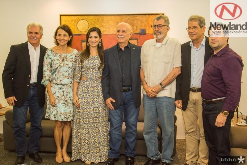 Pio Rodrigues, Izolda Cela, Jamila Araujo, Freitas Cordeiro, Eudoro Santana, Severino Ramalho Neto e Igor Queiroz