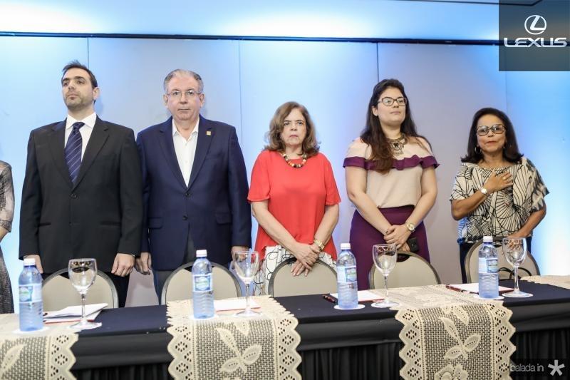 Paulo Mindlin, Ricardo Cavalcante, Roseane Medeiros, Roberta Arrais e Adenil Falcao