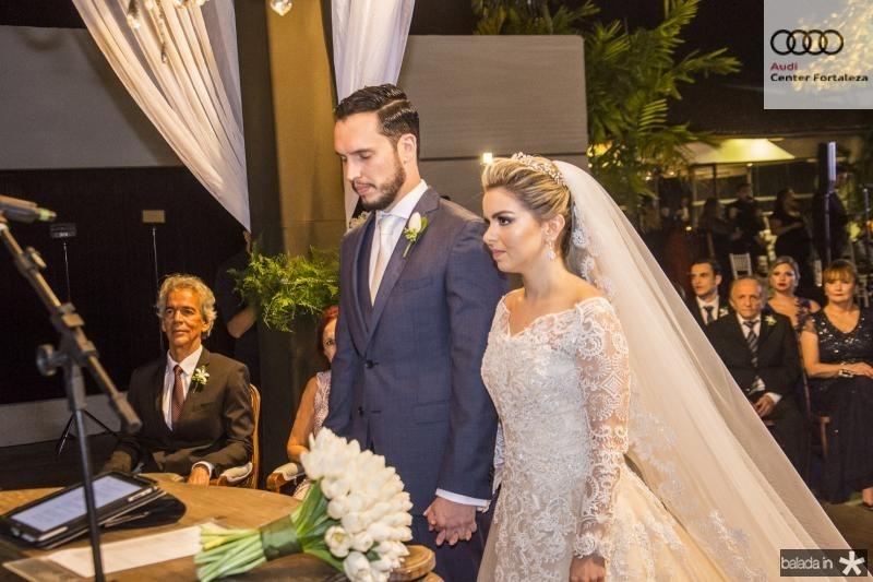 Roberto Cabral e Diandra Alves