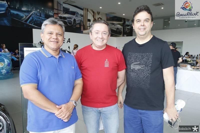 Andre Bastos, Cicero Rocha e Yuri Sobral