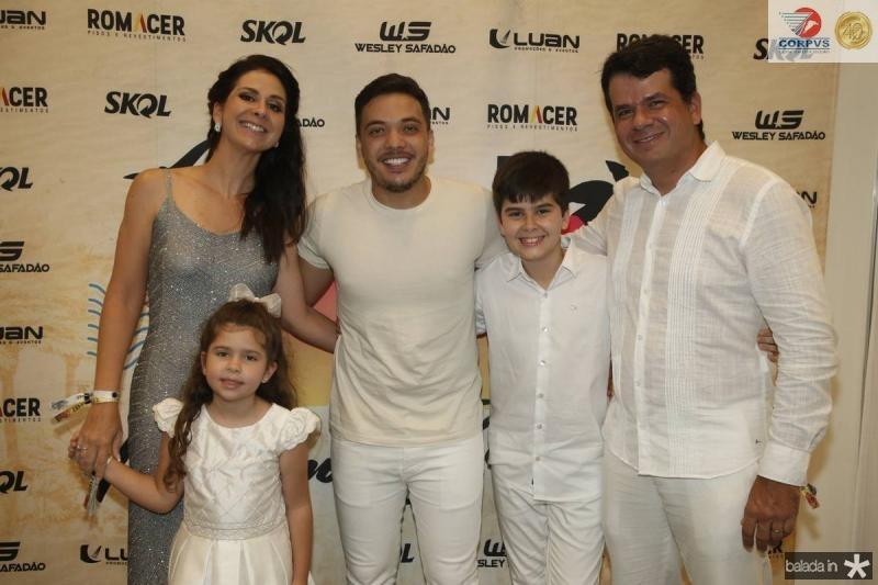 Fernanda e Marina Bezerra, Wesley Safadao, Guilherme e Beto Gil