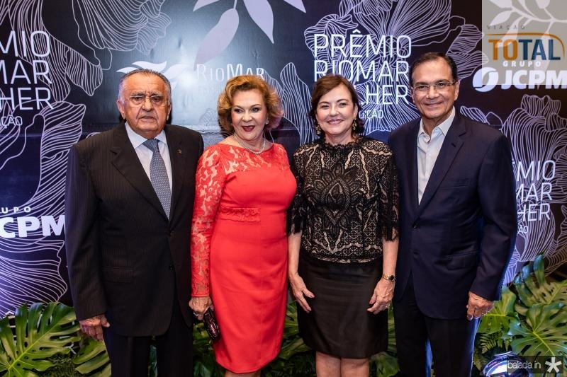 Joao Carlos Paes Mendonca, Auxiliadora Paes Mendonca, Ana e Beto Studart