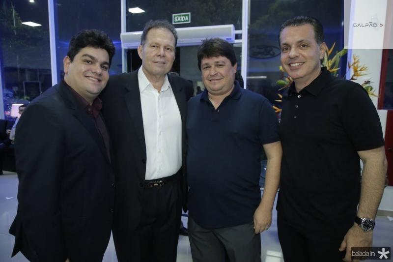 Rafael Fontenele, Julinho Ventura, George Lima e Leo Dallolio