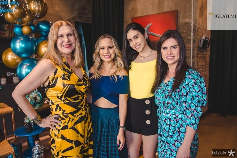 Maria Hortencia, Lohana, Suzana e Claudia Rios