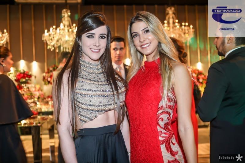 Andressa Benevides e Priscila Ximenes
