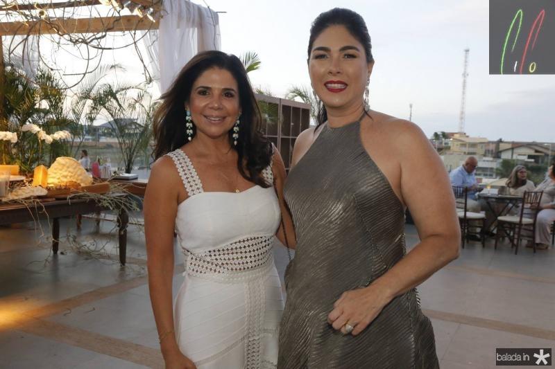 Maria Lucia Carapeba e Izabela Fiuza