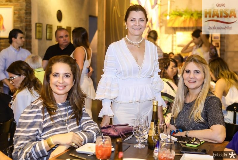 Marcia Andreia, Liliana Farias e Morgana Dias Branco