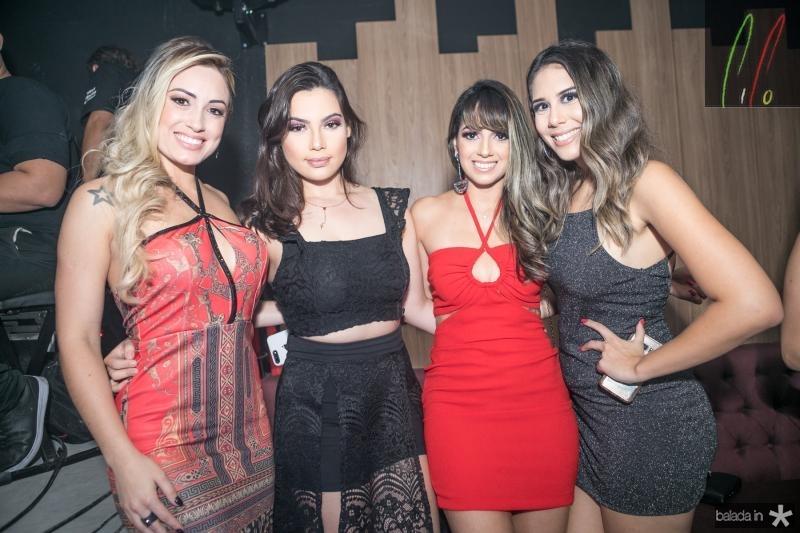 Jessica Muller, Juliana Nery, Maiara Coelho e Rebeca Moita