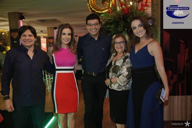 Joao Inacio Junior, Adamir Macedo, Luiz Esteves, Samantha Marques e Patricia Nielsen
