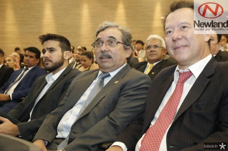 Cabral Neto, Roberto Sergio e Carlos Fujita