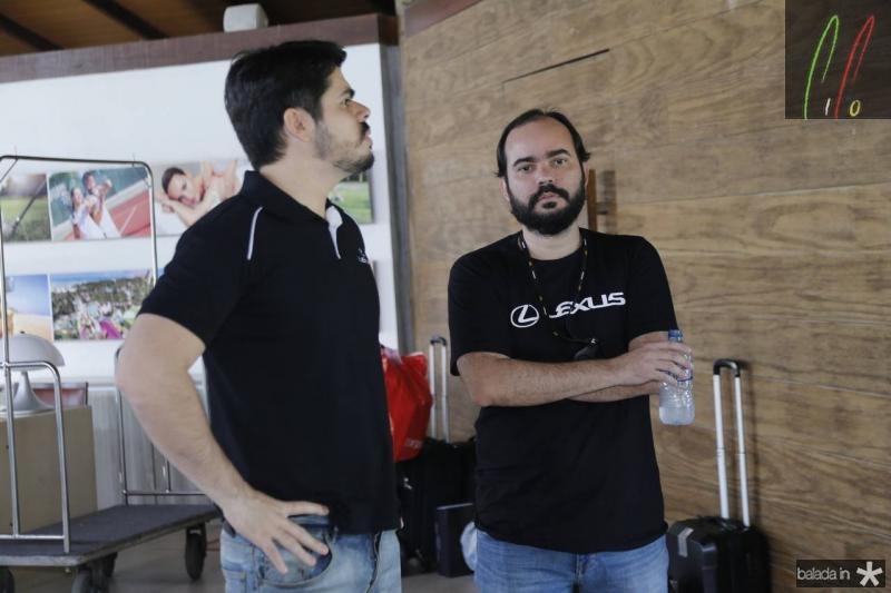 Pedro Lima e Leandro Saiao