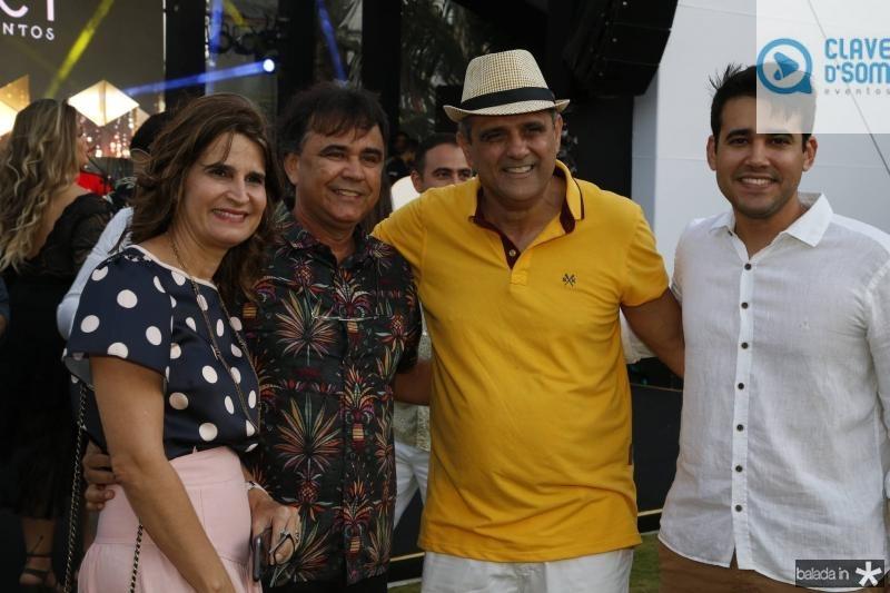 Daniela e Gilberto Costa, Andre Vercosa e Cabral Neto 2