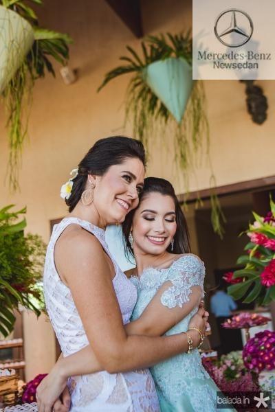 Sylvia e Sofia Leal
