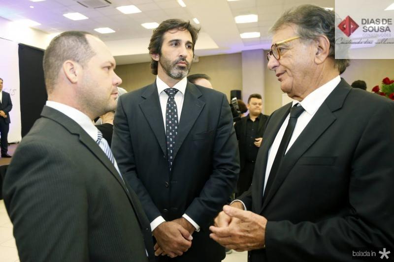 Heitor Freire, Lucas Fiuza e Arialdo Pinho