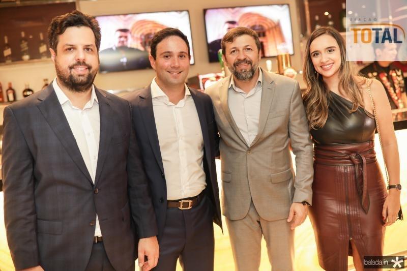 Cassio Pacheco, Tiago Asfor, Elcio Baista e Liana Pacheco