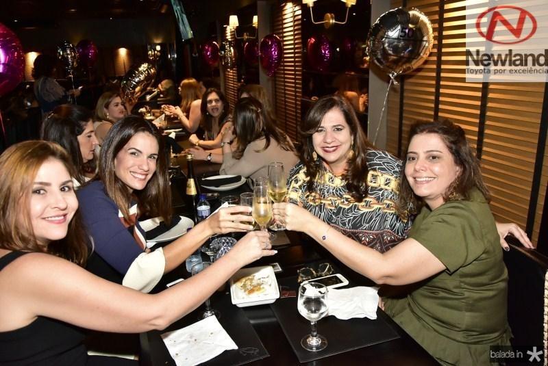 Cristiane de Farias, Ana Virginia Martins, Martinha Assuncao e Claudia Gradvohl