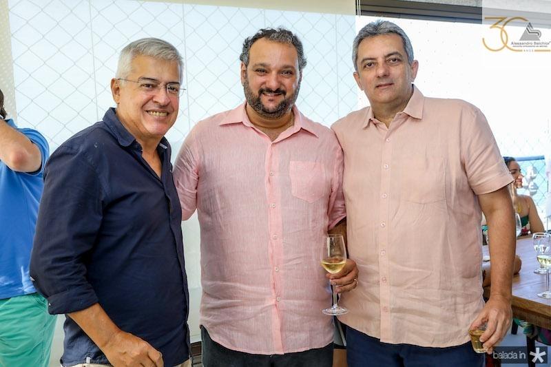 PC Norões, Patriolino Dias e Guedes Neto