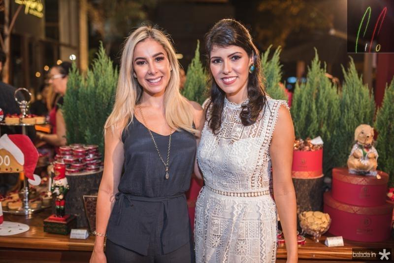 Priscila Silva e Flavia Laprovitera