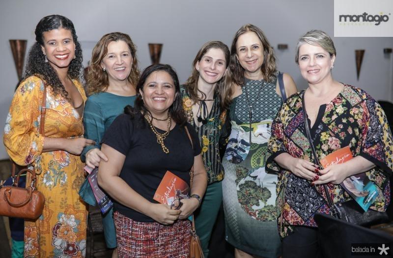 Clarise Sacramento, Cristina Borges, Flavia Oliveira, Isabel Dalla, Adriana Coutinho e Loredana Sofia