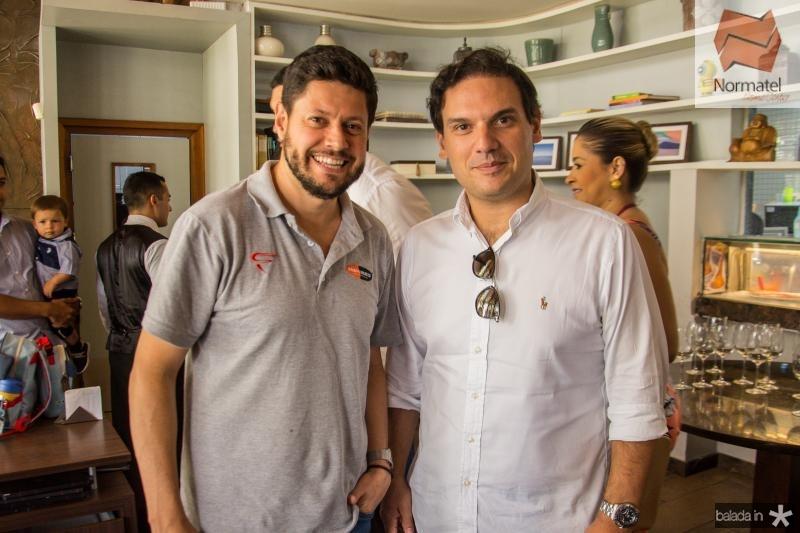 Rodrigo Quevedo e Victor Holanda