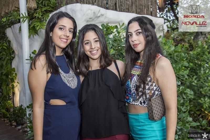 Gabriela de Melo, Isadora Marinho e Manuela Aires