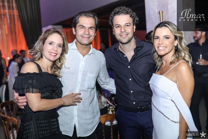 Lina e Candido Pinheiro, Geraldo e Liliana Rola