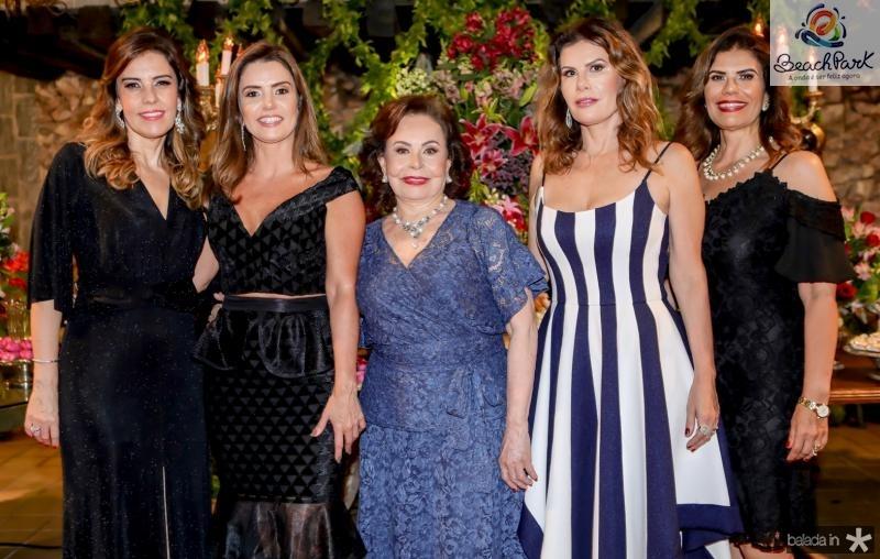 Rosele, Patricia, Marly, Karla e Silvana Nogueira